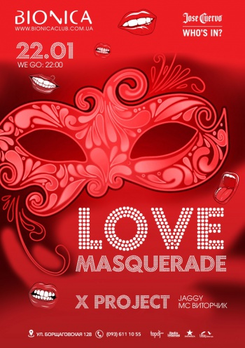 «Love Masquerade: X-project» в клубе «Bionica»