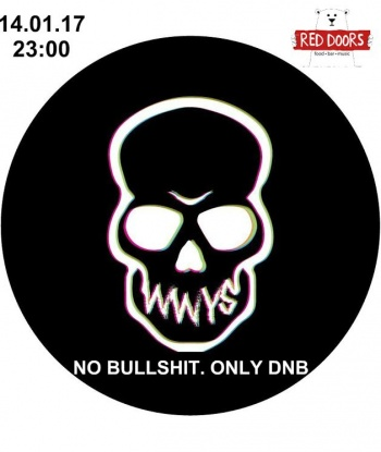 Вечеринка «No Bullshit. Only DNB» в «Red Doors Bar»
