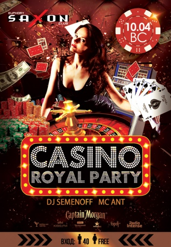«Casino Royal party» в «Saxon»
