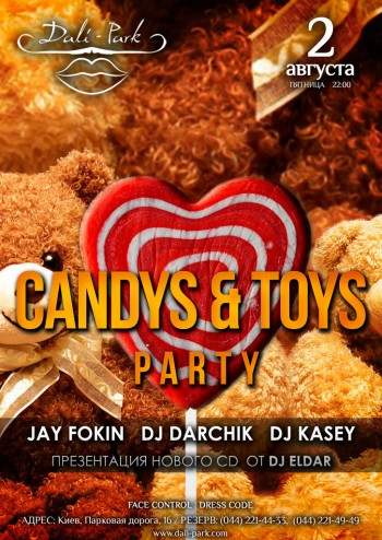 Candys & Toys party