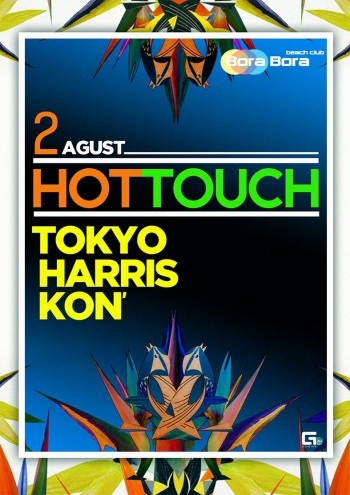 Hot touch в Bora Bora Beach Club