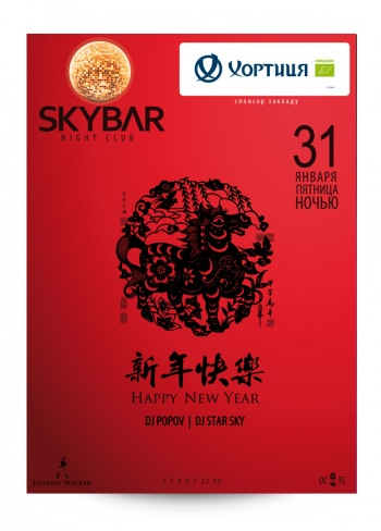 Happy New Year в SkyBar
