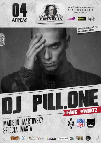 Dj Pill.One в Franklin club