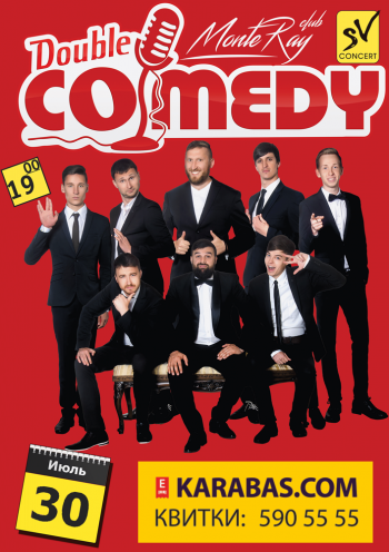 Double Comedy Show в «MonteRay Live Stage»