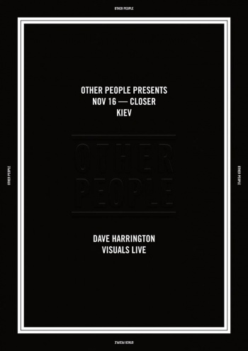 Other People w/ Dave Harrington & Visuals live