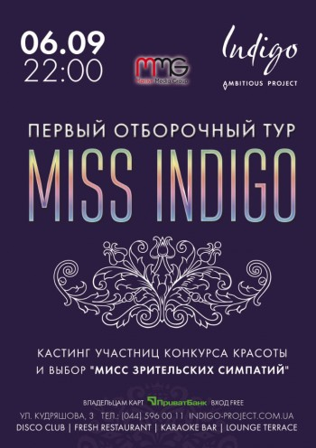 Pre-party Miss Indigo