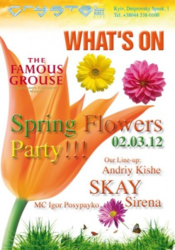 Spring flower party в «Crystall Hall»