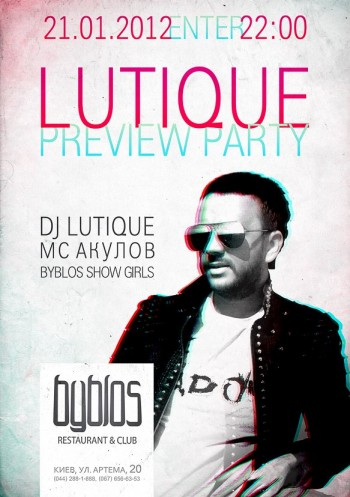 Lutique Preview Party